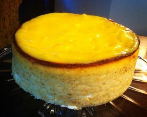 Sicilian Lemon Ricotta Cheesecake
